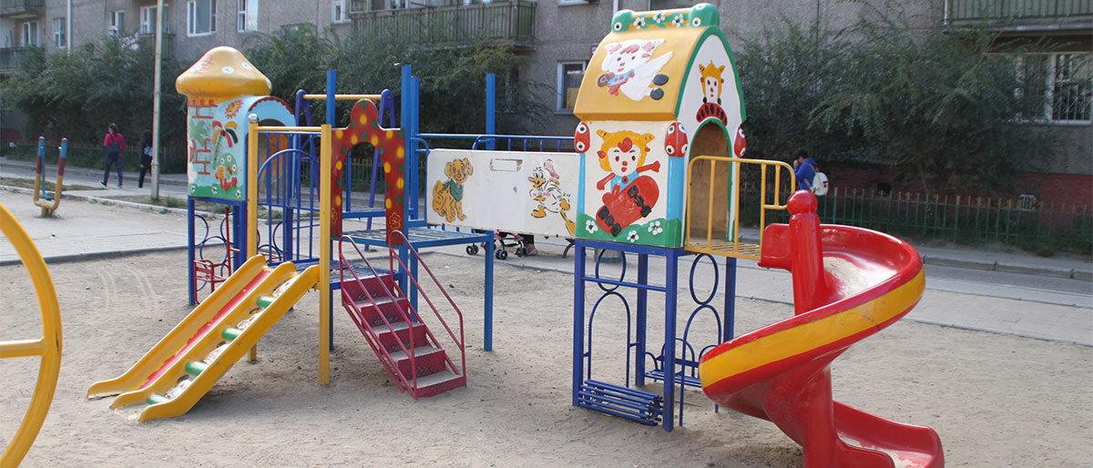 Permalänk till:Lekpark i Ryssland